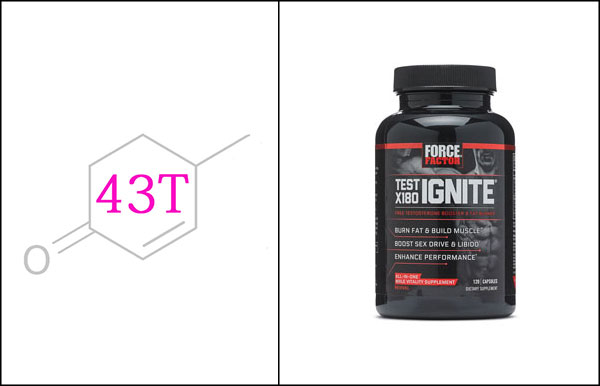 Force Factor Test X180 Ignite testosterone booster