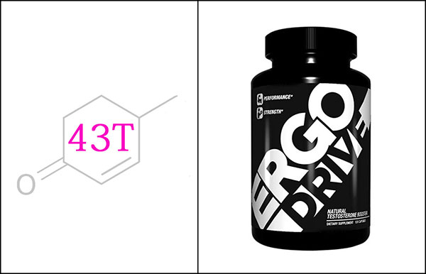 ErgoGenix ErgoDRIVE natural testosterone booster