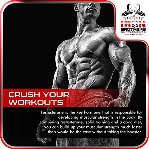 Iron Brothers Testosterone Booster claims