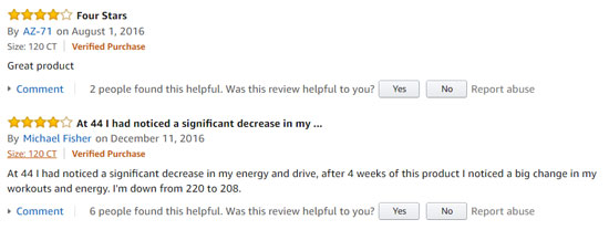 Nugenix Ultimate positive user feedback