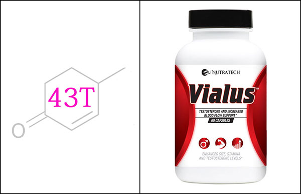 Nutratech Vialus testosterone and libido booster