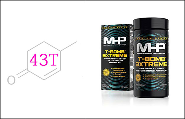 MHP T-BOMB 3XTREME testosterone booster