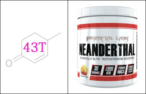 Primeval Labs Neanderthal testosterone booster